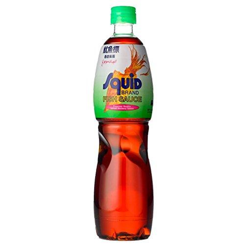 Squid Fish Sauce, Fischsauce ohne Zusätze 700ml, No MSG