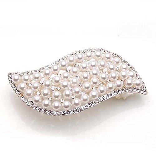 Versione coreana della farfalla prima ornamento/ Pearl PIN card/Diamanti accessori capelli/ Croce clip copricapo-C