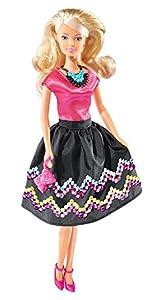 Simba 105738054 - Steffi muñeca del Amor con Lentejuelas para Pegar
