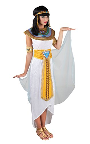 ,Karneval Klamotten' Kostüm Cleopatra Dame Kostüm Karneval Ägyptische Kaiserin Damenkostüm Größe 40/42