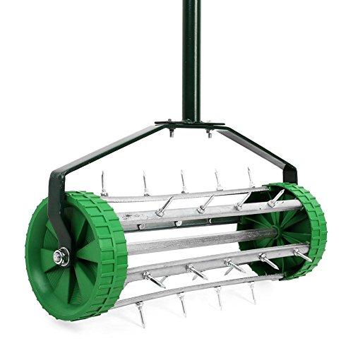 oypla-heavy-duty-hand-held-push-along-garden-lawn-aerator-c-w-spikes