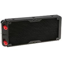 Homyl Intercambiador de Calor de Aluminio Usarse para CPU CO2 Refrigeración por Agua Número de Tubos