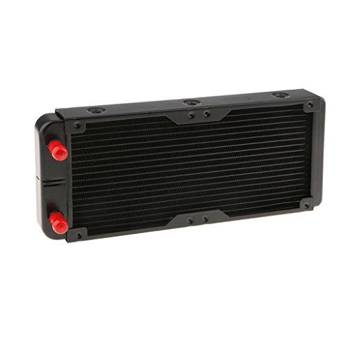 Foto de Homyl Intercambiador de Calor de Aluminio Usarse para CPU CO2 Refrigeración por Agua Número de Tubos de Aluminio 18