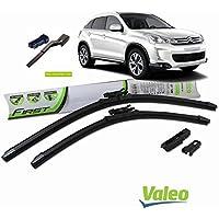 Valeo_group Valeo Juego de 2 escobillas de limpiaparabrisas Especiales para Citroen C4 aircross | 650/