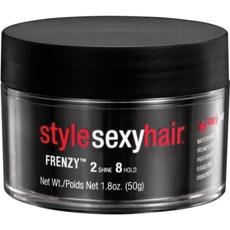 Sexy Hair Frenzy Matte Texturizing Paste, 1.8 Ounce by Style Sexy (Styles Hair Sexy)