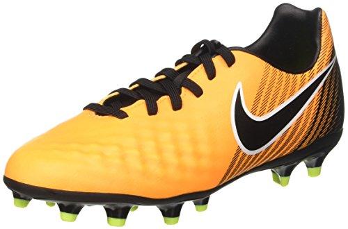Nike Unisex-Kinder Jr. Magista Onda II FG Fußballschuhe, Orange (Laser Orange/Black/White/Volt), 32 EU