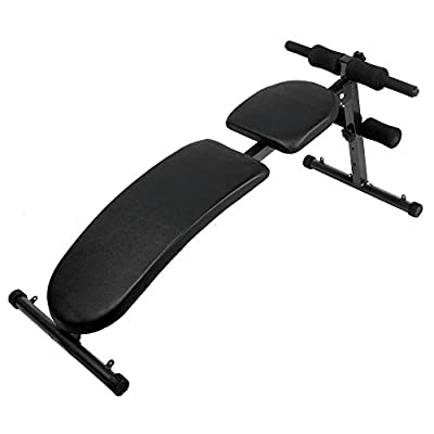 Adjustable Weight Bench Dumbbell Fitness Equipment Upright Flat Incline Decline[UK Stock] by 1