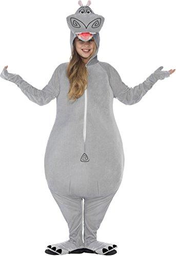 Smiffys, Kinder Unisex Gloria das Flußpferd Kostüm, All-in-One mit gepolstertem Kopf, Madagascar, Größe: M, (Ideen Jahre Jungen Alten Kostüm 9 Halloween)