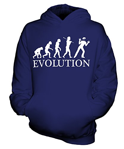 Candymix - Mime Evolution Of Man - Unisex Kids Hoodie Boys Girls Childrens Toddlers Hooded Sweater Top
