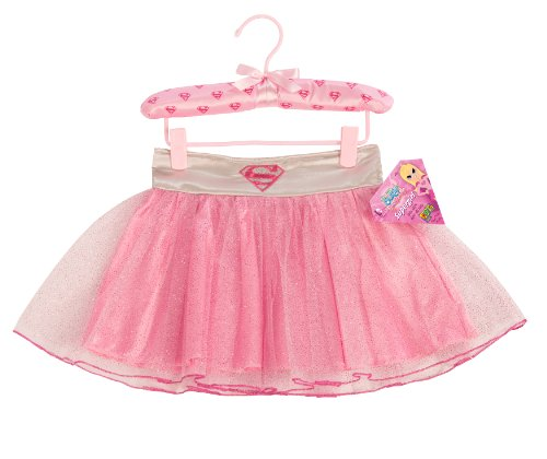 s Supergirl Tutu Skirt With Puff Hanger by Imagine by Rubie's (Supergirl Tutu Kostüm Kind)