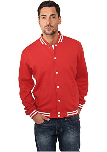 College Sweatjacket red XXL (Classic Lee Shorts)