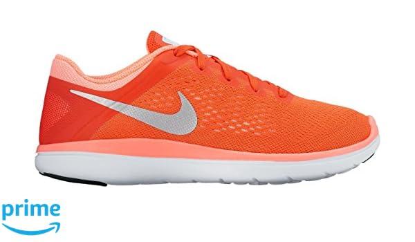 Nike Flex 2016 Rn (Gs)   max orange/metallic silver lav