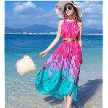 La robe de vacances au bord de la mer de sable maigre de jupe jupe pour le tourisme de la plage de la Thaïlande da ma robe d'été