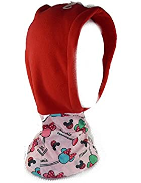 Minnie Mouse - Pañuelo braga cuello con gorro (New Import 770-955)