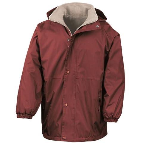 Résultat réversible tempête Dri 4000 Fleece Jacket Bourgogne/chameau XL