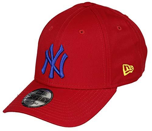 New Era New York Yankees MLB Cap New Era 9forty Baseball Verstellbar Rot Blau - One-Size New York Yankees-kinder-fan