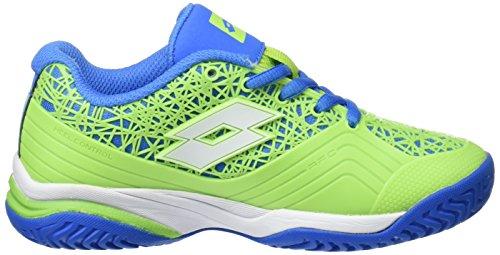 Lotto Unisex, bambini Viper Ultra Jr L scarpe da ginnastica Vari colori (multicolor/Clov Fl/Wht)