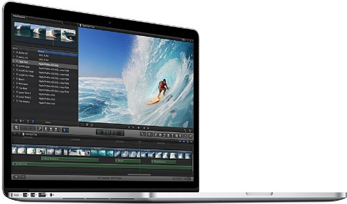 Apple MacBook Pro 38,10 cm (15 Zoll) Notebook (Intel-Core i7 4850HQ, 2,3GHz, 16GB, 512GB SSD, GeForce GT 750M 2GB,  Mac OS) silber