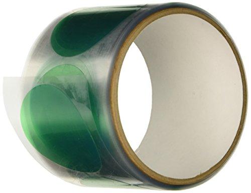 A19 Grün (TapeCase A19-100-5,1 cm grüne Polyesterscheiben 5,1 cm - 100/rl (1 Pack))