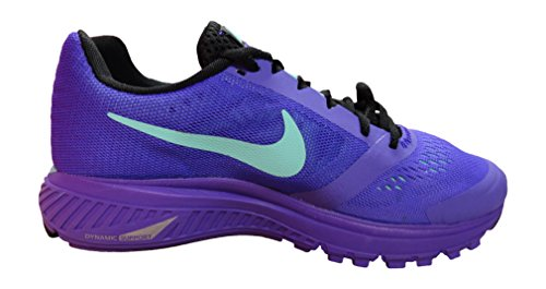 Nike Damen Wmns Zoom Structure+ 17 Laufschuhe Violett (Hyper Grape / Black-Hyper Turq)