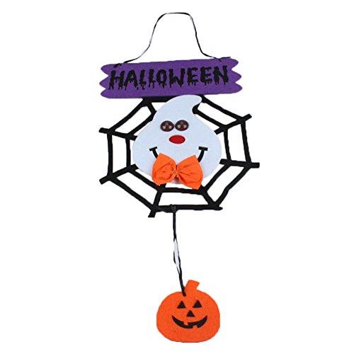 Wansan Halloween Tür Hängende Dekoration Beleuchtung Auge Anhänger Dekoration für Indoor Outdoor Mall Fenster Bar