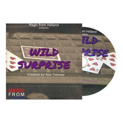 Wild Surprise (BLUE) by Ron Timmer - Trick