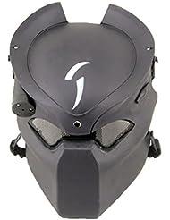 Táctico de Protección Paintball Airsoft Metal malla Alien y Predator CS campo lámpara de infrarrojos, Full Face máscara Worldshopping4U