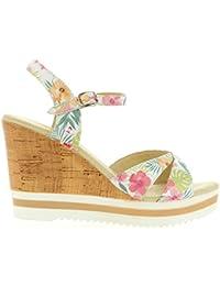 Sandales pour Femme PANAMA JACK ESTRELLA TROPICAL B1 NAPA BLANCO