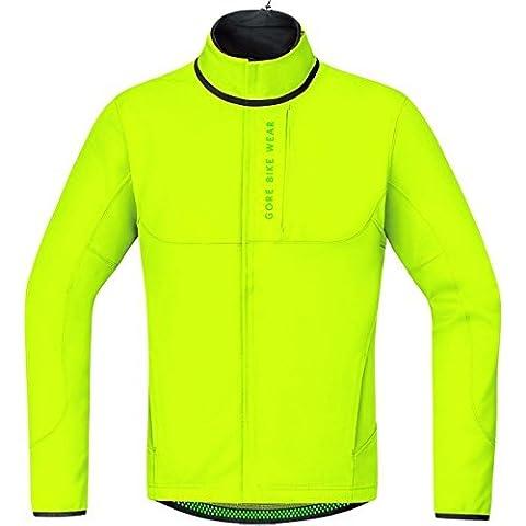 Gore Bike Wear Men's Thermo Windproof Jacket Windstopper Soft Shell