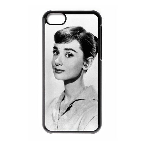 LP-LG Phone Case Of Audrey Hepburn For Iphone 5C [Pattern-6] Pattern-3