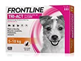 3 Pipette Frontline Tri-Act Spot-On per Cani S (5 - 10 kg)