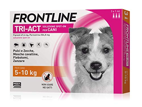 3-Pipette-Frontline-Tri-Act-Spot-On-per-Cani-S-5-10-kg