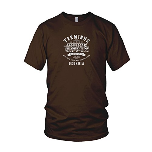 Terminus Sanctuary - Herren T-Shirt Braun