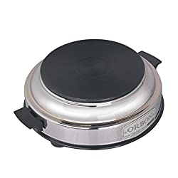 Orbon 1000-Watt Hot Plate Induction Cooktop / Induction Cookers / Handy Hotplate Cooktop ( With Attached 2 Mtr. Cord )( HUGE DIWALI DISCOUNT & FREE SHIPPING )