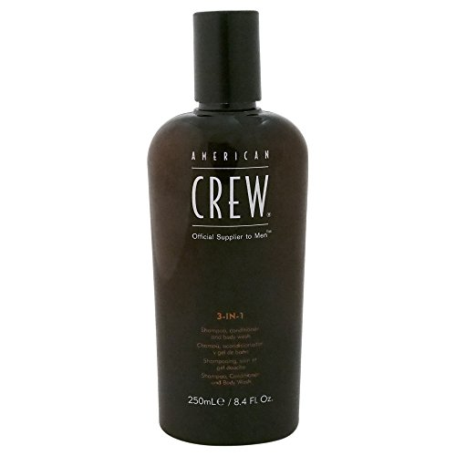 American Crew Classic 3-in-1 Shampoo, Conditioner, body wash 250ml