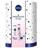 NIVEA Rosy Shine Verwöhnset, Geschenkset für Frauen mit NIVEA Care Sensitive, Labello,...