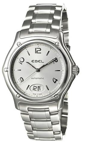 Ebel - 1911 - 9125250-16567 - Montre Homme - Acier - Automatique Analogique - Cadran Argent - Dateur Bracelet Acier