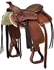 Selle western Pony Lakota premières–se00280