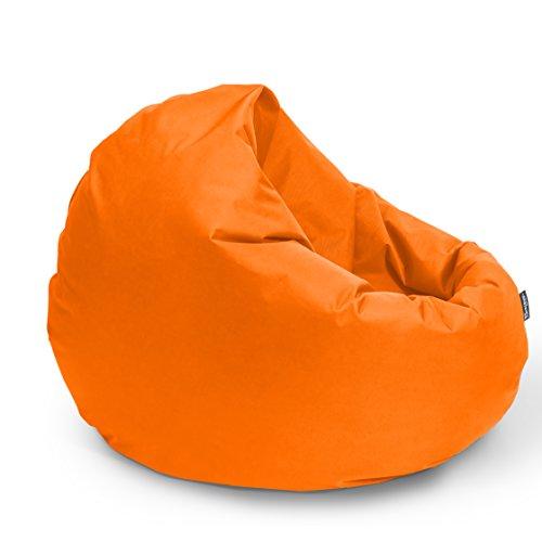 BuBiBag Sitzsack 2-in-1 Funktionen mit Füllung Sitzkissen Bodenkissen Kissen Sessel BeanBag (100cm...