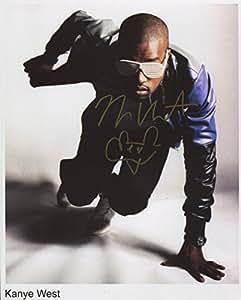 Kanye West Signed 20,3x 25,4cm Foto + Echtheitszertifikat 100% echtem