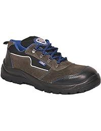 Allen Cooper 1116 Men's Safety Shoe, 10 UK, Black-Grey