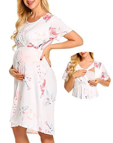 Zhenwei vestito premaman estivo pigiami premaman donna abbigliamento