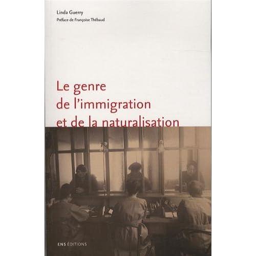 Le genre de l'immigration et de la naturalisation. L'exemple de Marse Ille (1918-1940)