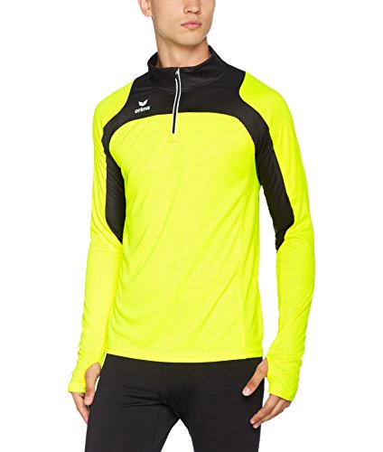 Erima Herren Race Line Running Longsleeve, Neon gelb/Schwarz, XXXL Preisvergleich