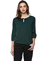 Mayra Women's Crepe Party Wear Top
