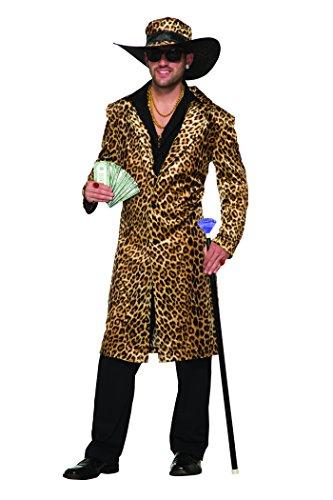 Funky Leopard Pimp Jacket + Hat Pimp Leopard