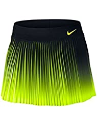 Nike W Nk Flx Vctry Skirt Premier - Falda para mujer, color negro, talla M