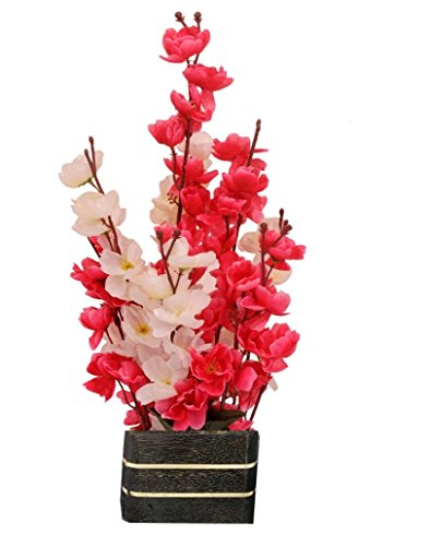 Sofix Beautiful Artificial Orchid Flower Pot For Home Decor Hotel Decor Office...