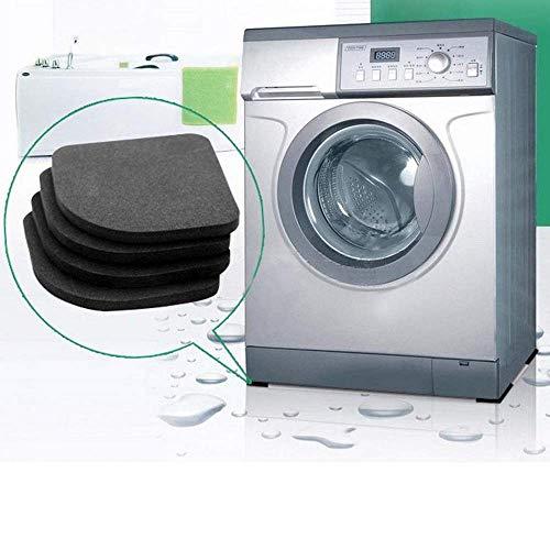 Almohadillas antivibración para lavadoras ToomLight (4 PK) - Funcionan mejor para cualquier lavadora y secadora, reductor de ruido, sin sacudidas, almohadillas amortiguadoras