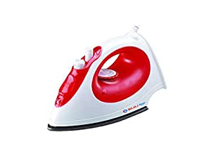 Bajaj Majesty MX15 1200-Watt Steam Iron (Red/White)